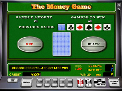 the money game риск игра