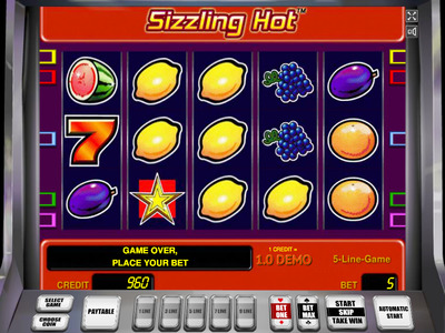 sizzling hot deluxe игровой автомат